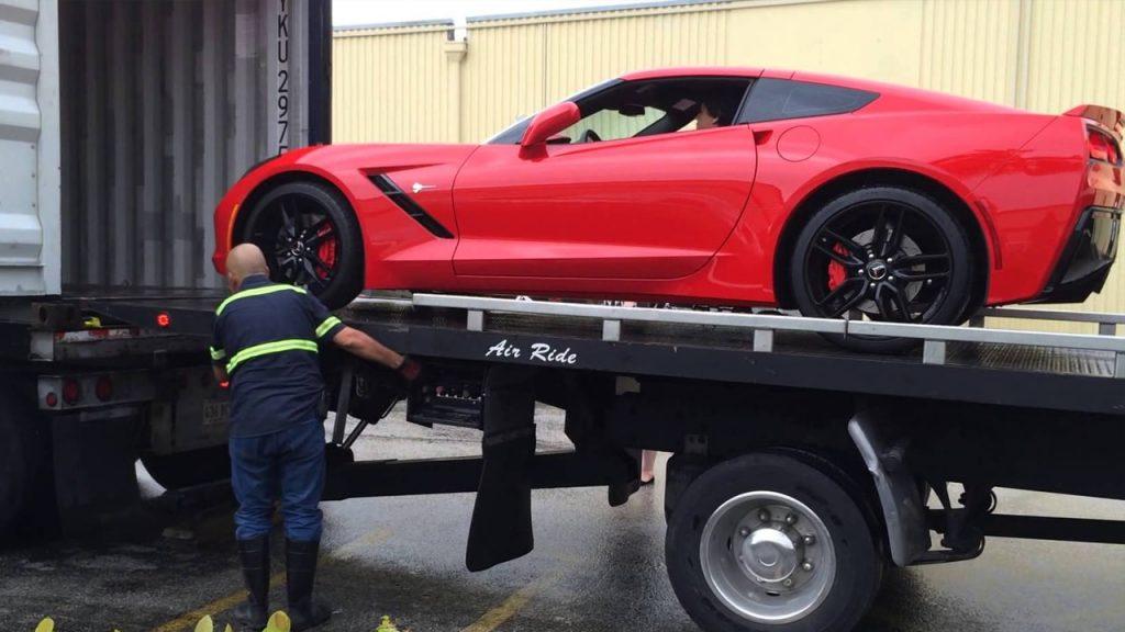 Automobilių transportavimas iš JAV į Europą