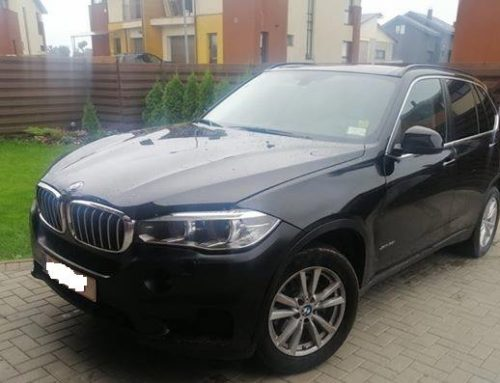 BMW X5 XDRIVE35I (2014m.)